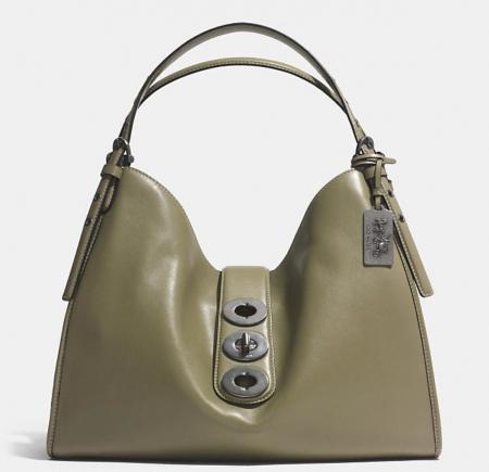 Coach green bag
